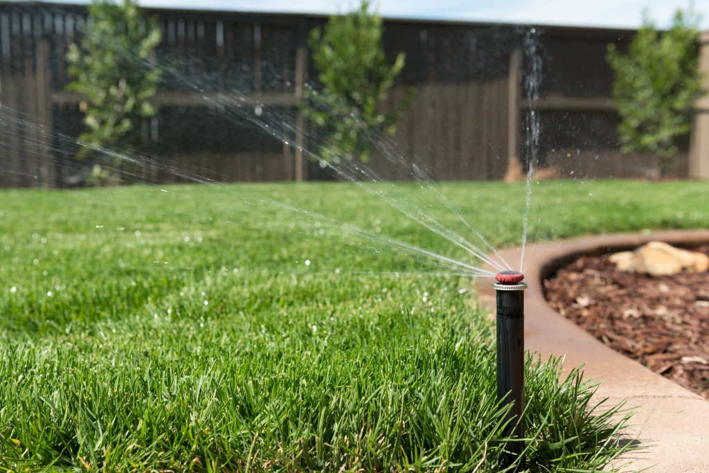 Little Rock Lawns provides sprinkler system design, installation and maintenance services in Little Rock and North Little Rock